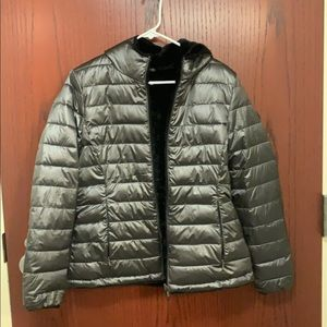 Double-sided puffer jacket
